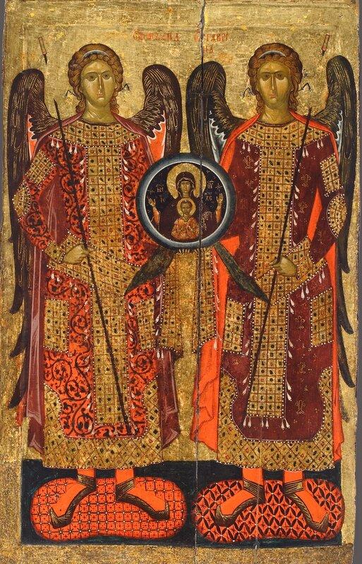 Собор Архистратига Михаила. Икона. Болгария, XIV век. Монастырь Бачково.