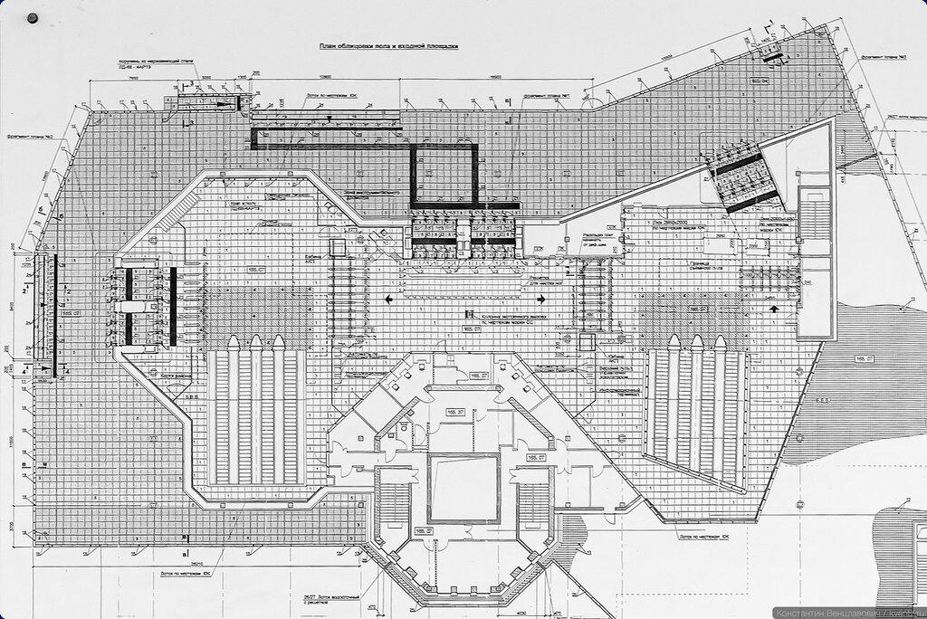 План будущего совмещённого вестибюля