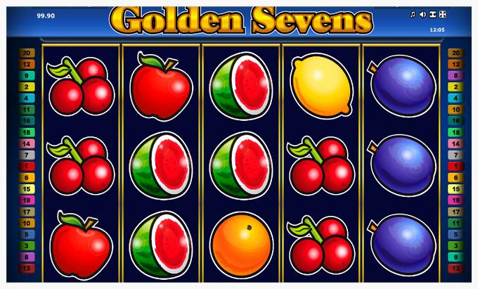 Онлайн автомат 777 Golden Sevens