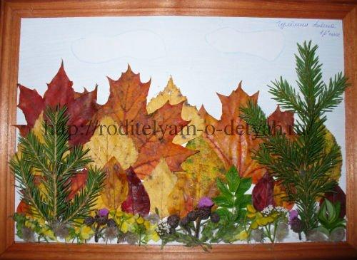 Осенние поделки фото