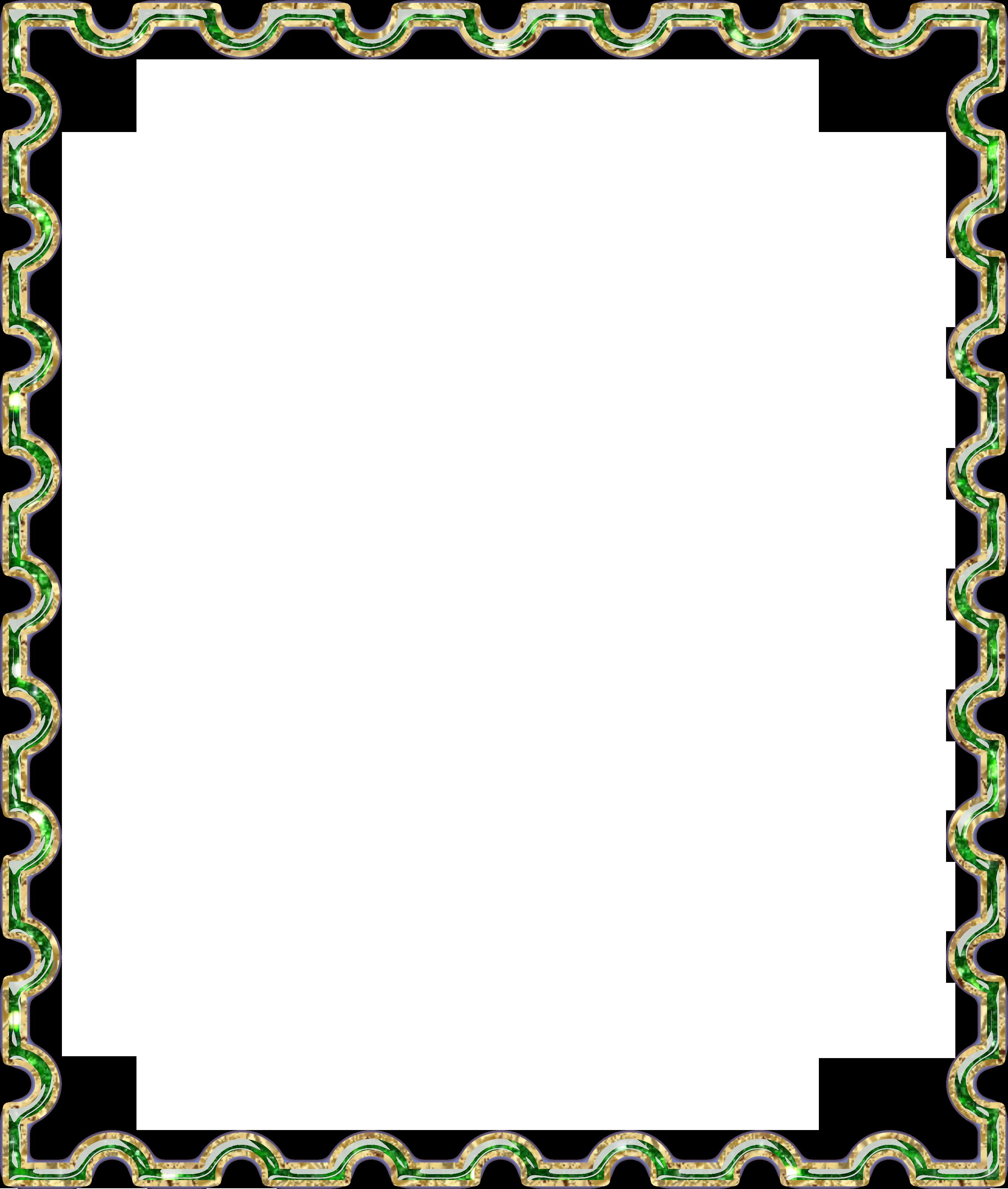 Картинка зеленая рамка