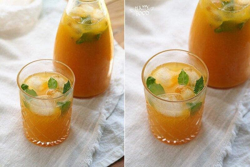 Пряный манговый лимонад