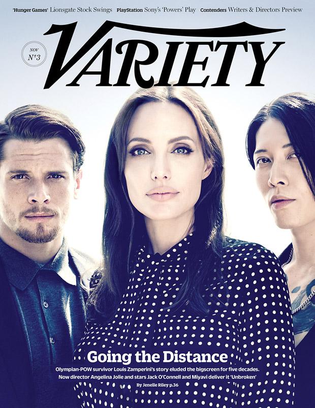 Анджелина Джоли (Angelina Jolie) в журнале Variety (4 фото)