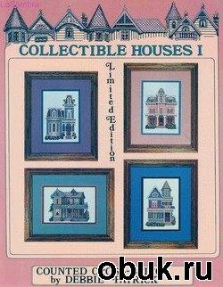Книга Буклеты по вышивке крестиком - Counted Cross-Stitch by Debbie Patrick. Викторианские домики