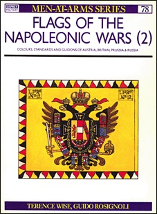 Книга Osprey Men-at-Arms 78  - Flags of the Napoleonic Wars (2)