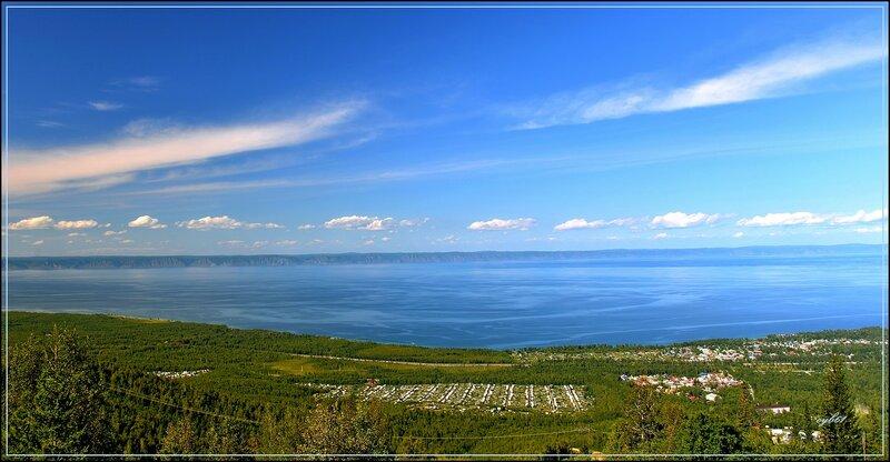 Вид на Байкальск