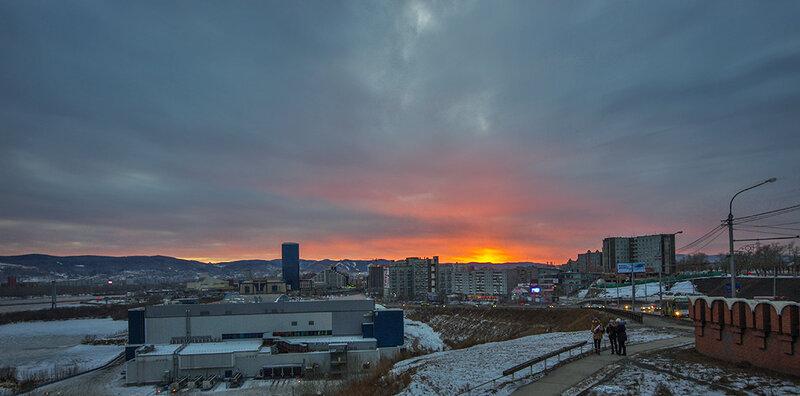 Красноярское небо
