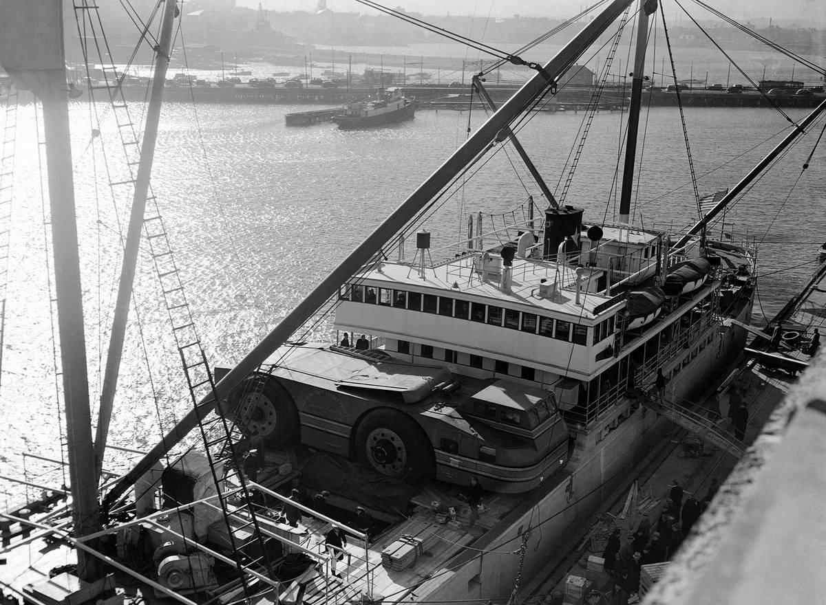 Снежный крейсер: История одного неудачного американского проекта по исследованию Арктики (1939 год) (14)