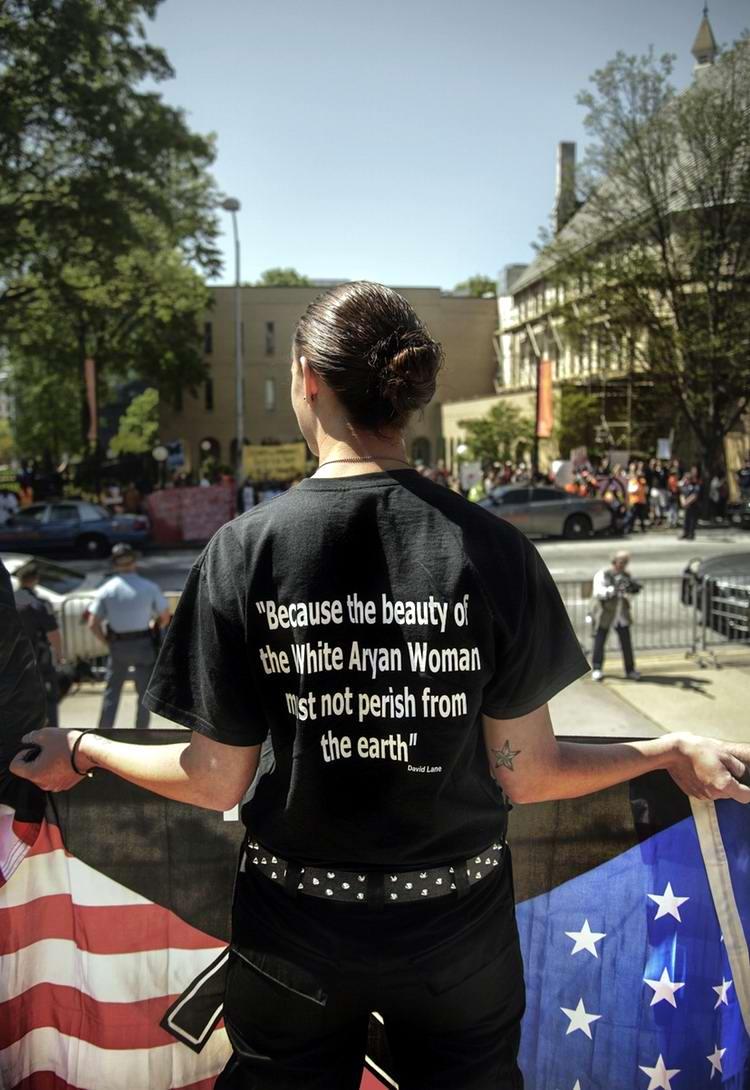 Американский фотограф Johnny Milano: Национал-социалистическое движение США в действии (24)