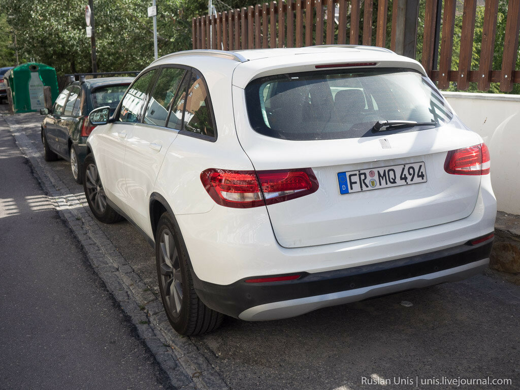 Шпионские фотографии Mercedes