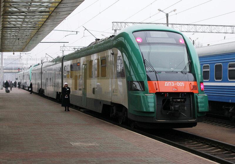 ДП3-001 на станции Минск