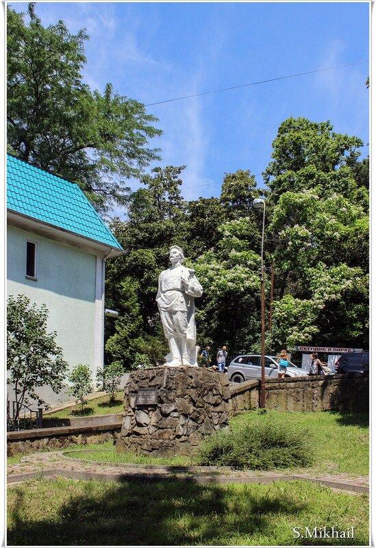 Памятник А. М. Горькому