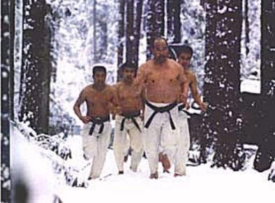Тренировки Масутацу Оямы