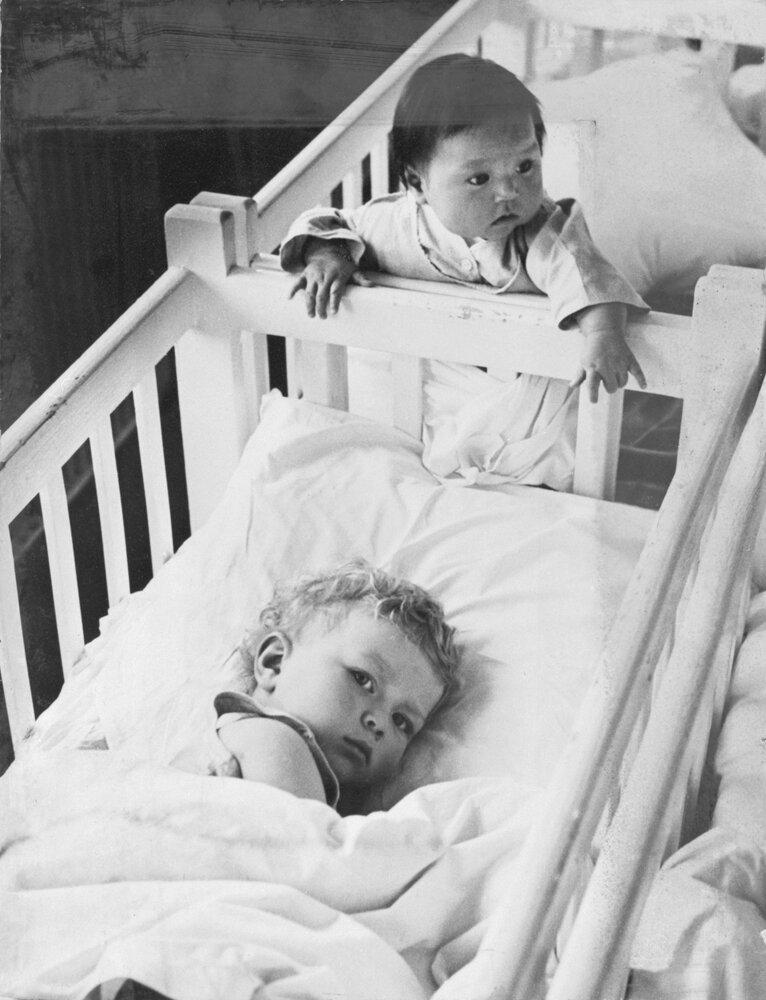 1950. Тихий час в детском саду
