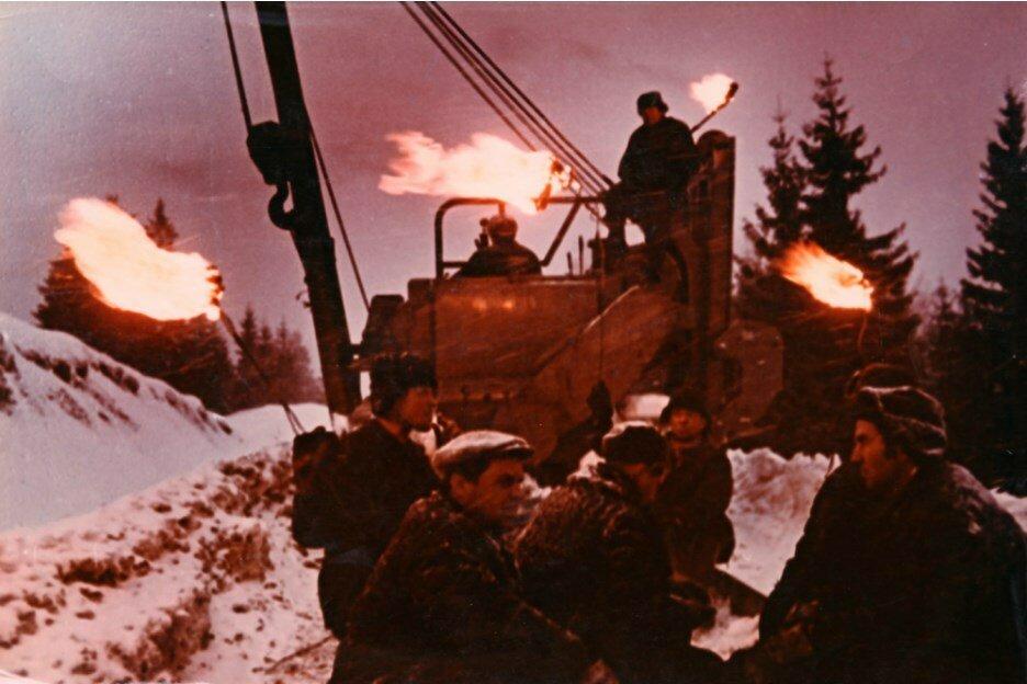 1974. Строители газопровода