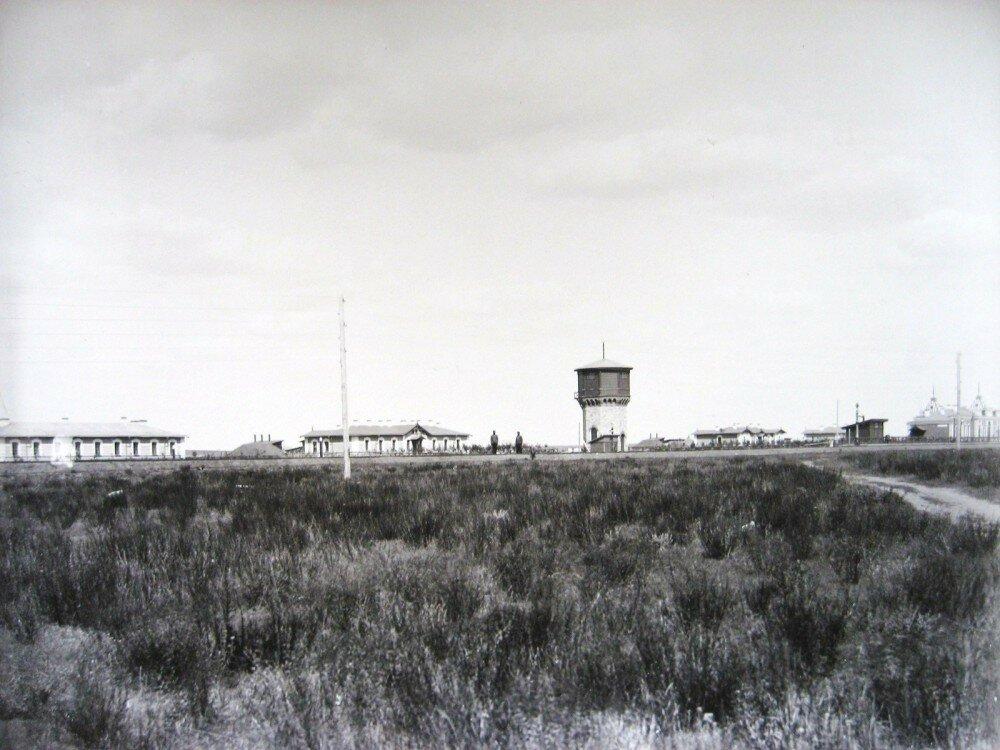 17. Общий вид станции Ак-Булак