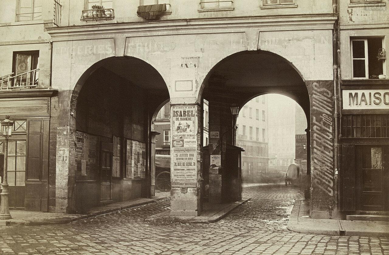 Двойной проход, 1866