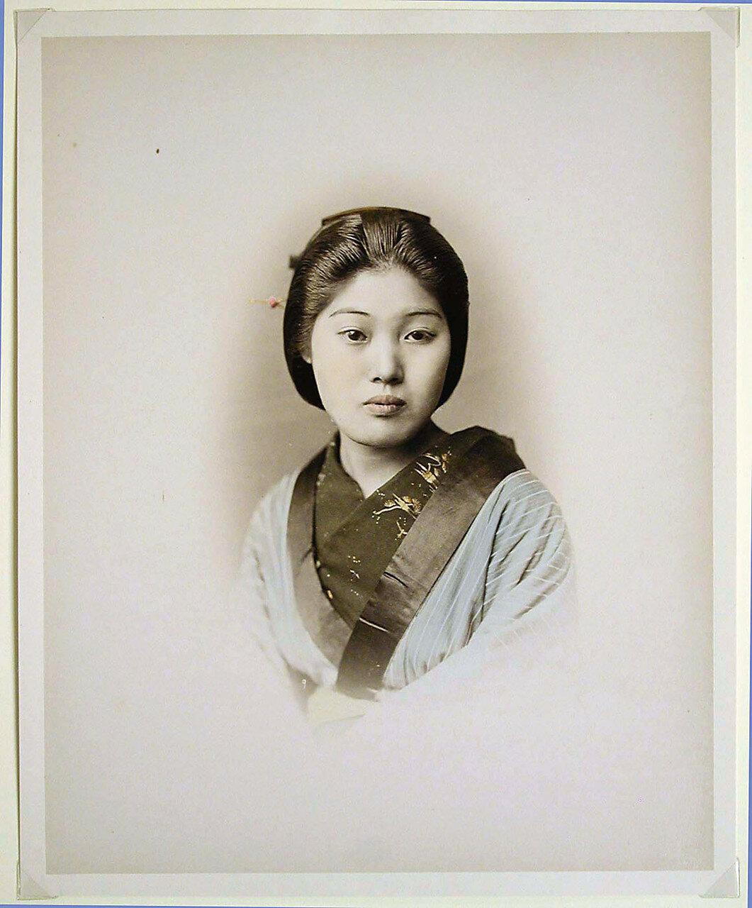 Молодая девушка, 1880-е