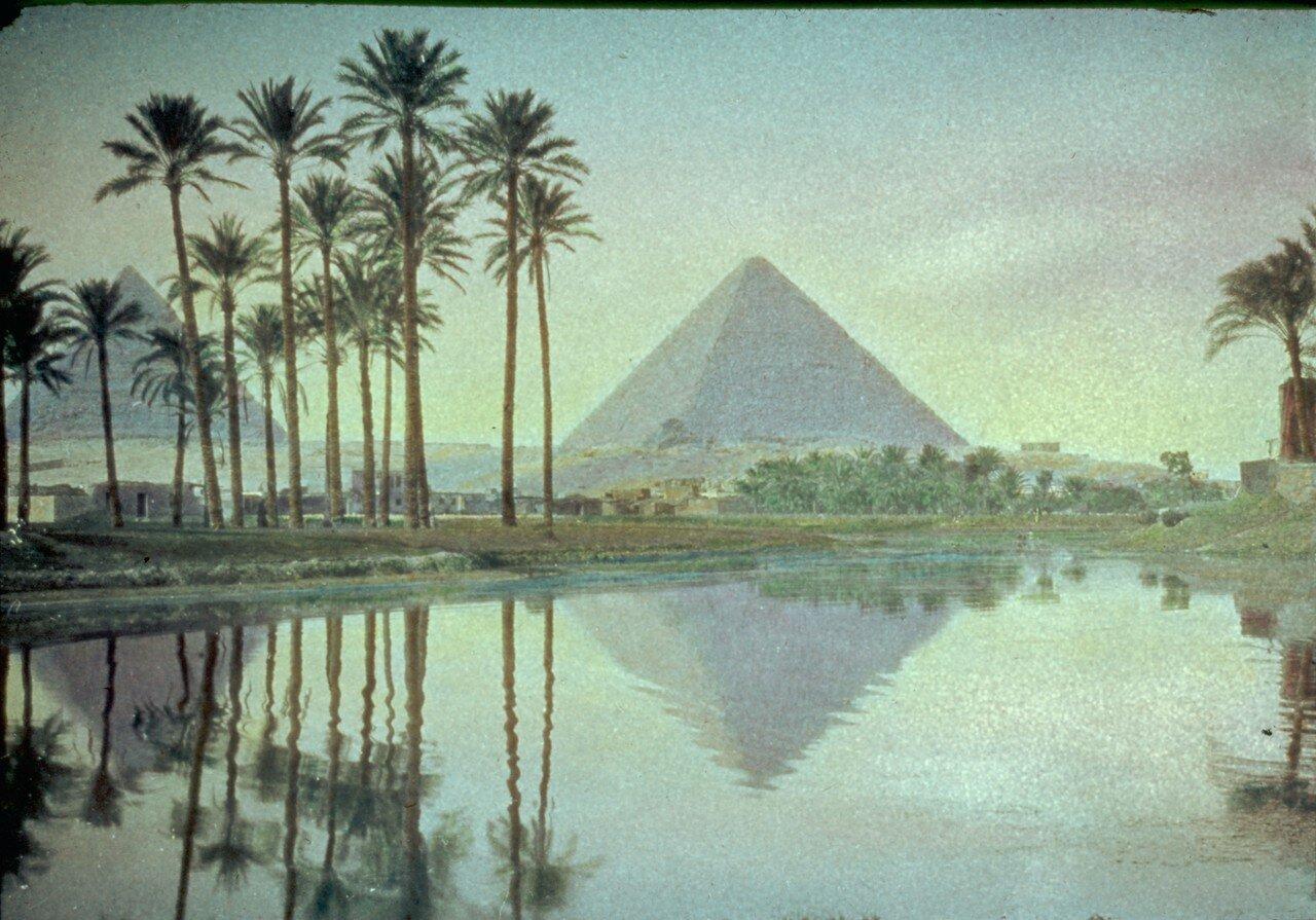 Гиза. Пирамиды. 1950