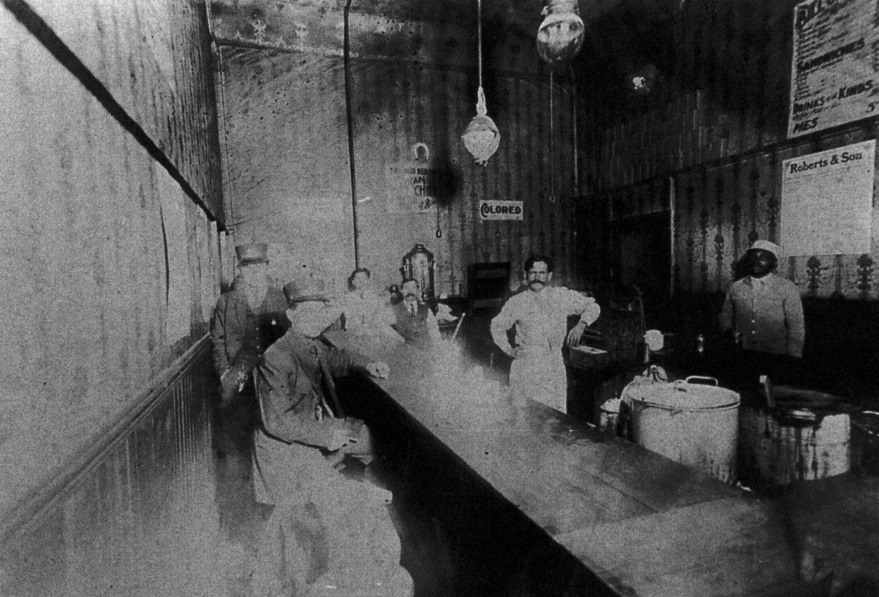 1895-1905. Сегрегация в Алабаме. Бар «только для белых»