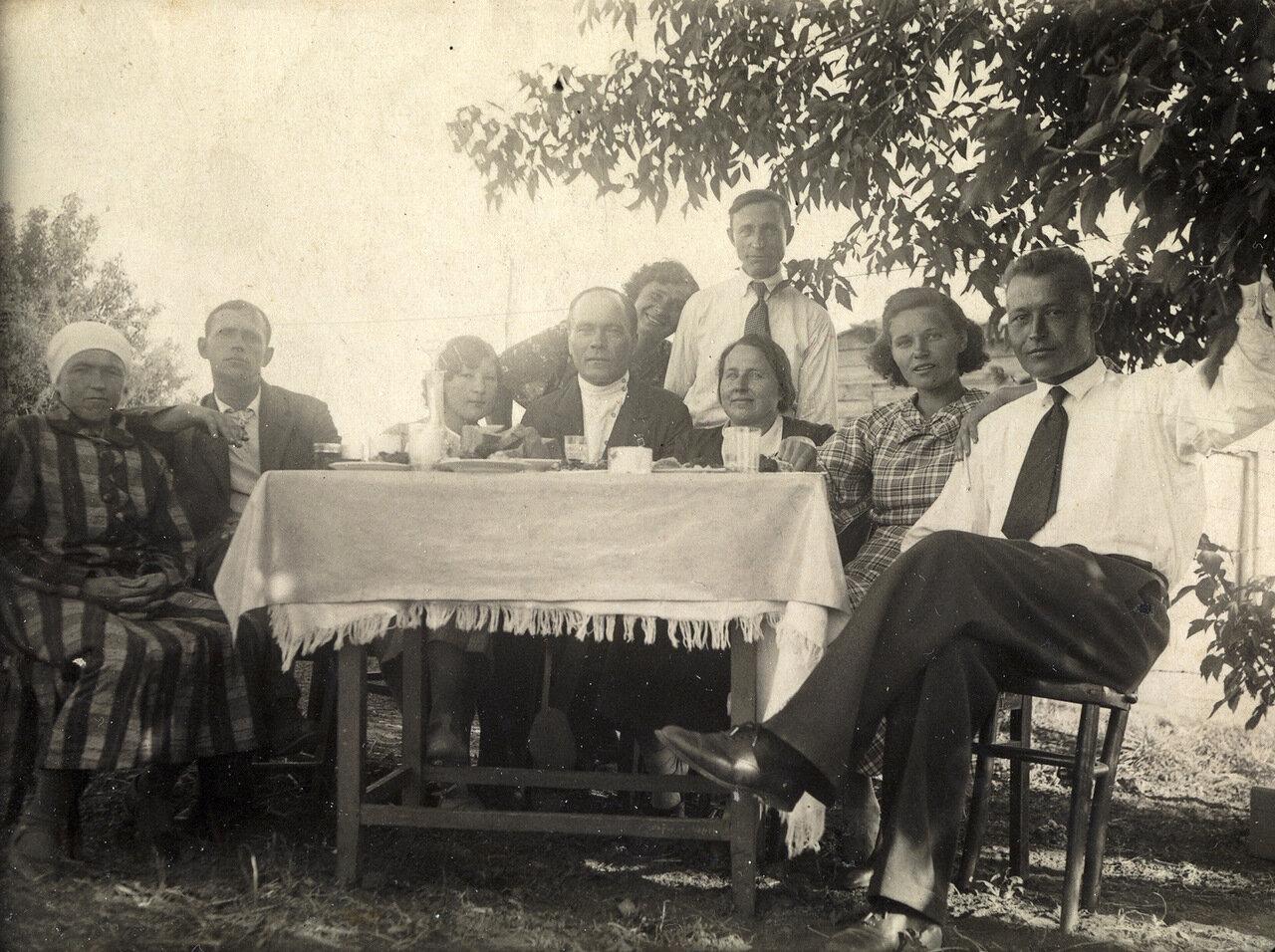 1948. Строд у родственников в Латвии