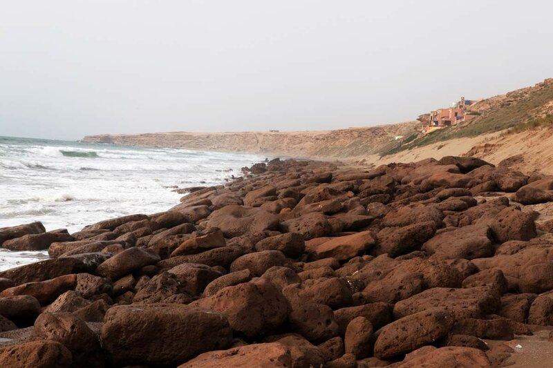 Марокко - дикий пляж