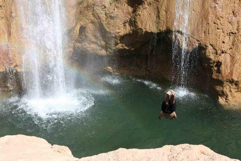 Марокко - Водопады, прыжки