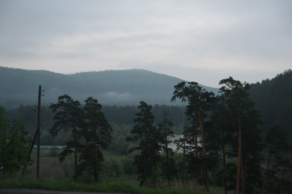 Дорога Куса - Медведёвка