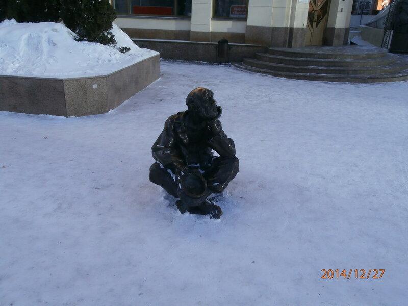 Фигурка на ул. Кирова