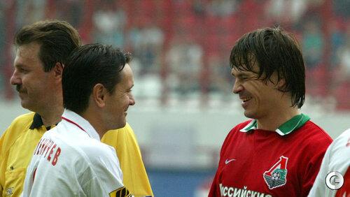 Дмитрий Аленичев и Дмитрий Лоськов