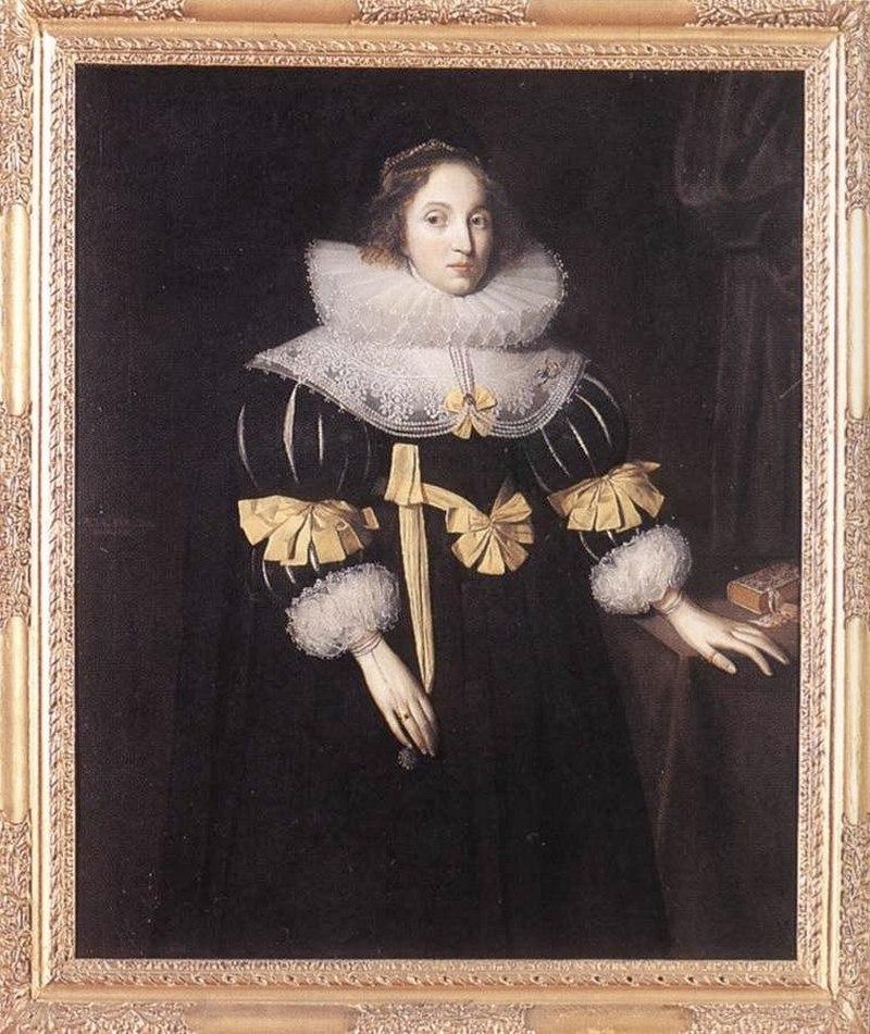 Маркус Гирартс младший. Портрет леди Anne Ruhout 1631