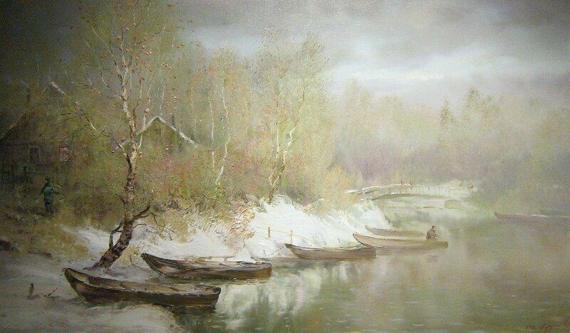 Константин Дружин. На реке Трубеж