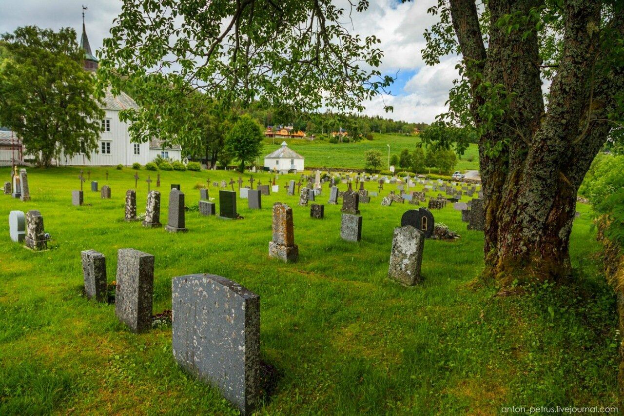 Норвежское кладбище