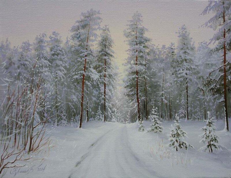Белорусский художник Олег Чувашев. Нежные пейзажи и натюрморты 0 1110bf e850c41d XL