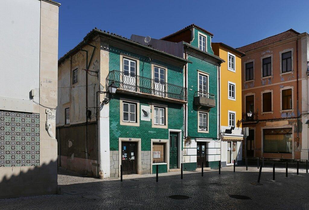 Leiria. House of artists (Casa dos Pintores)
