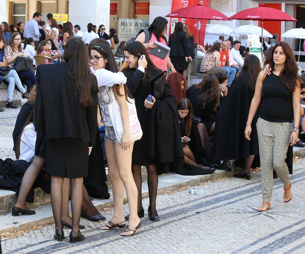 Студенты, Университет Коимбры.
