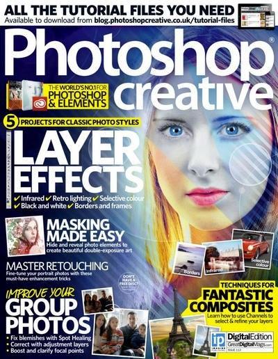 Книга Подшивка журналов: Photoshop Creative №№112, 113 (2014) [En]