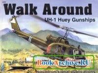 Книга Squadron/Signal Publications 5536: UH-1 Huey Gunships - Walk Around Number 36