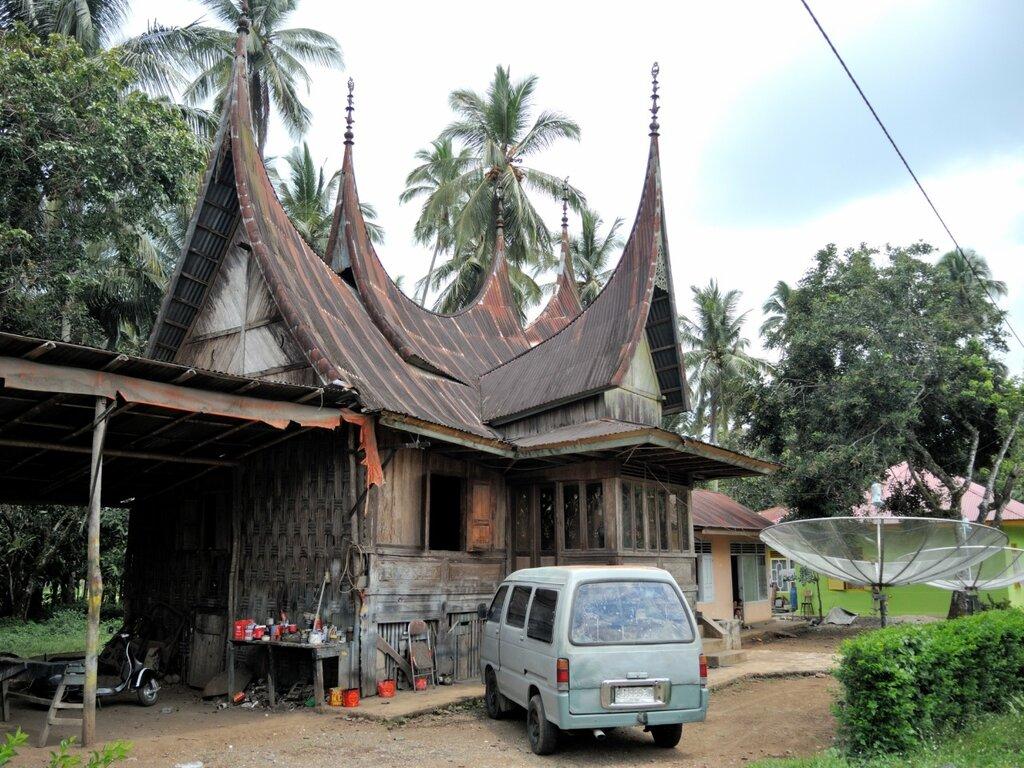 Дом минангкабау
