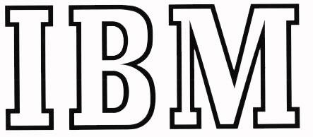 Второй логотип IBM (1947-1956)