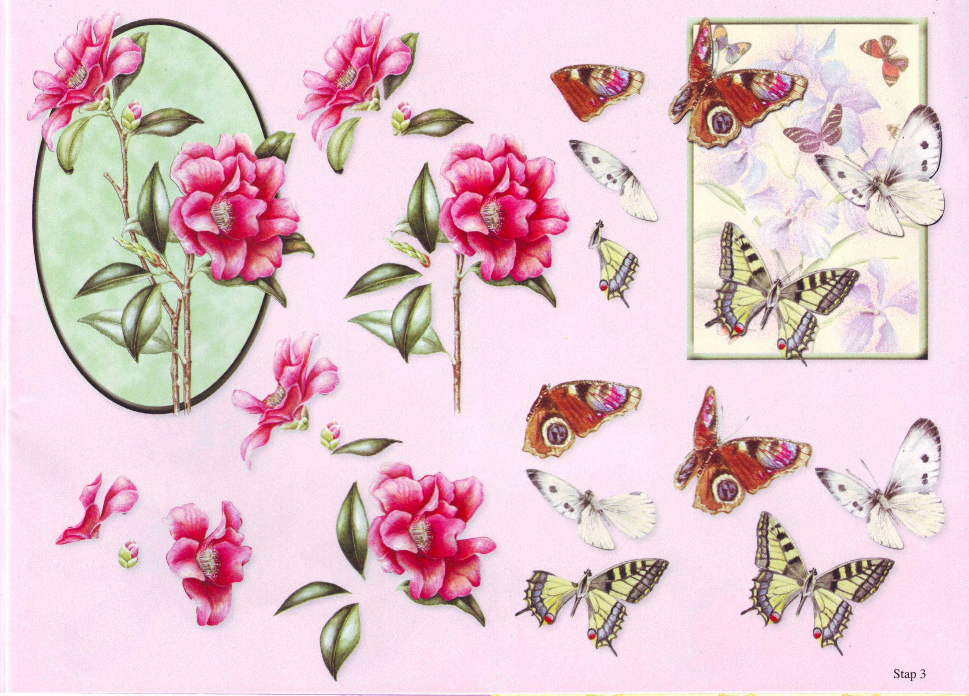 Картинки 3-д для открыток