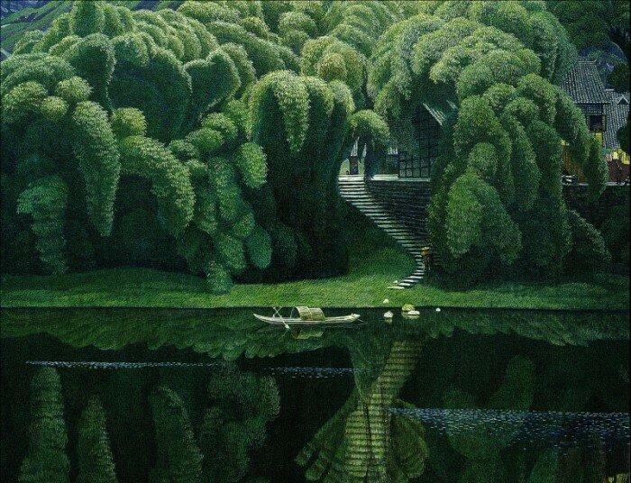 Мир созерцания Цзянь Чонг Мин
