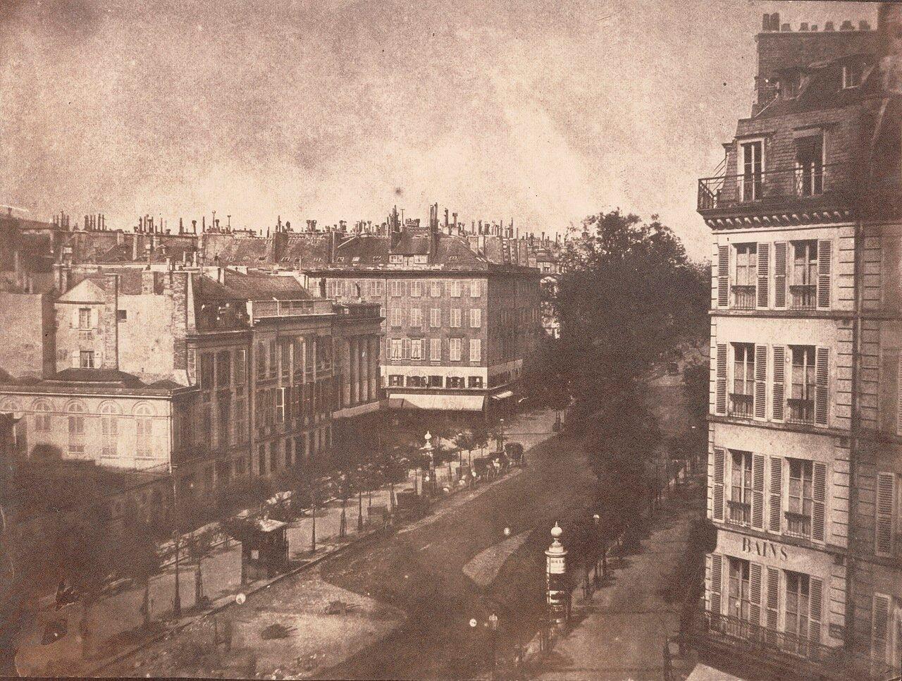 1843. Вид парижского бульвара