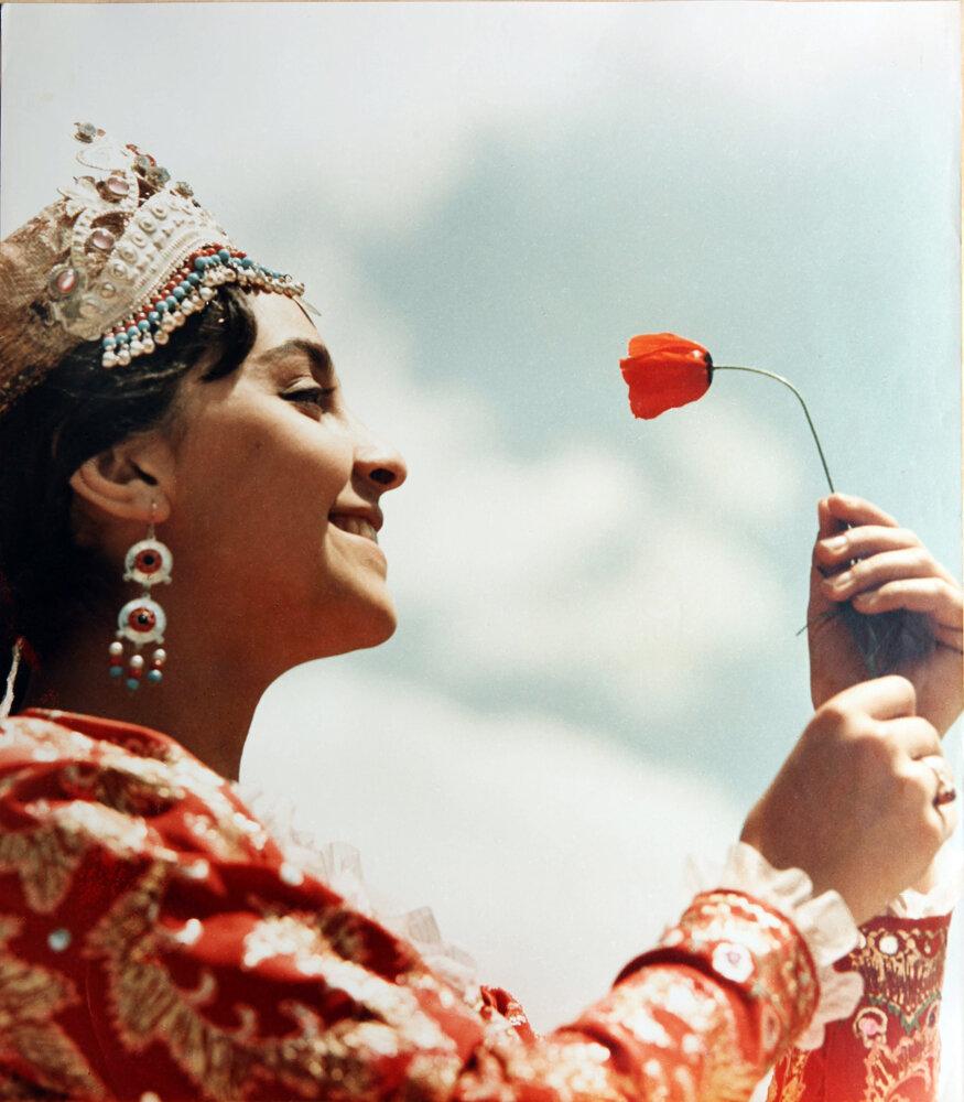 1970. Солистка узбекского балета