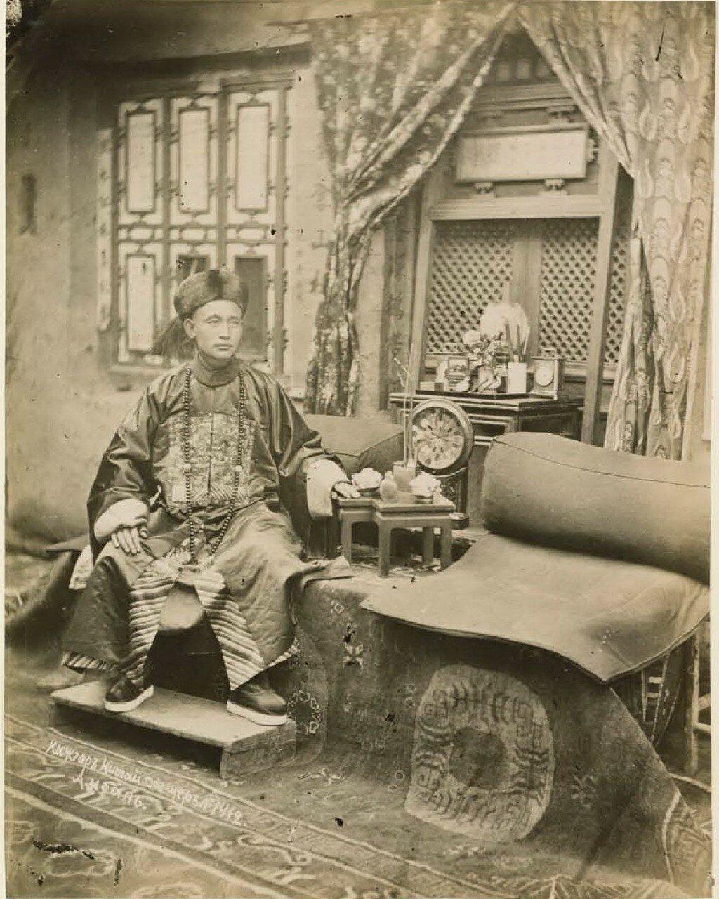 Кашгар. Китайский офицер