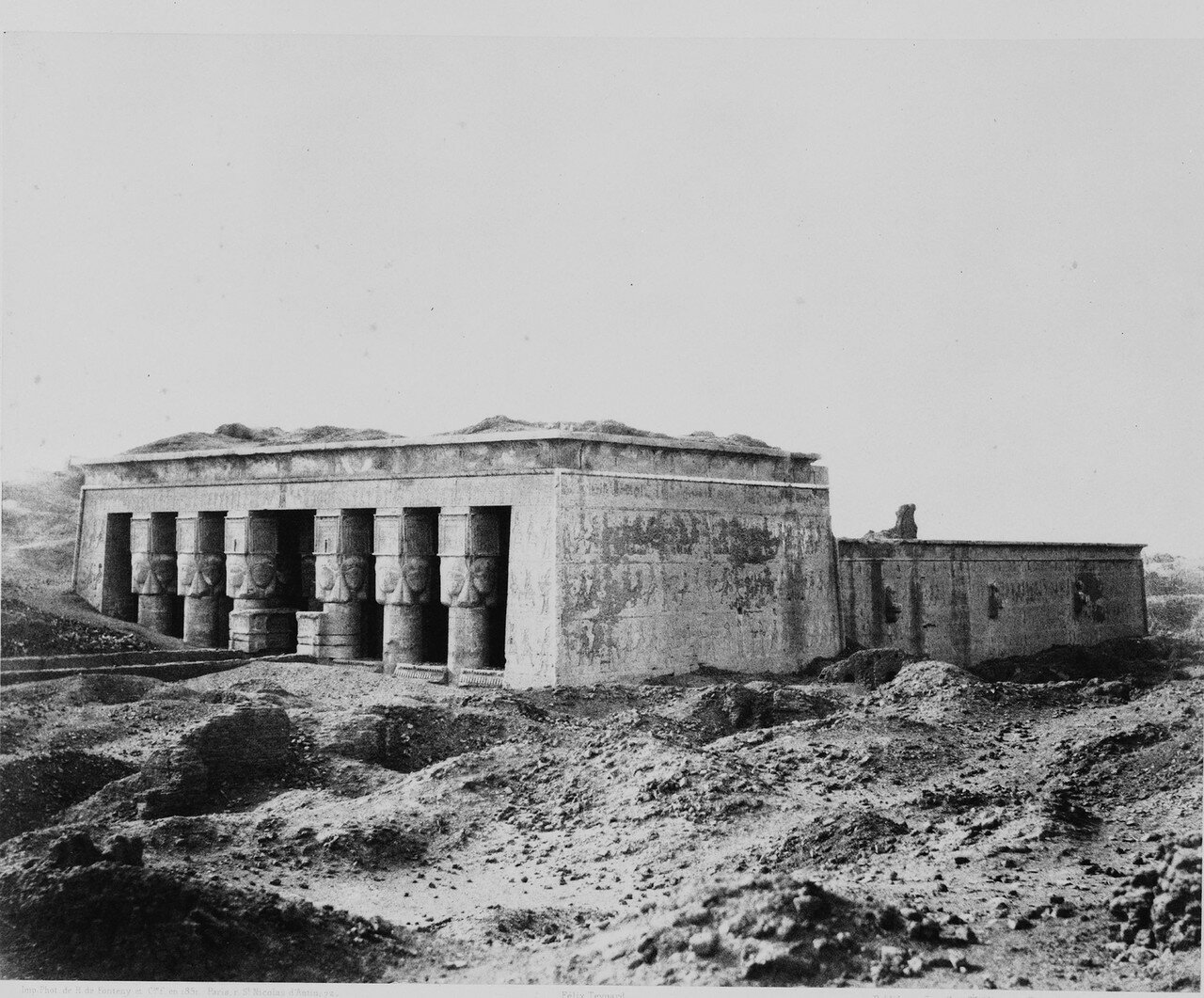 Дендера. Храм Хатхор. 1851