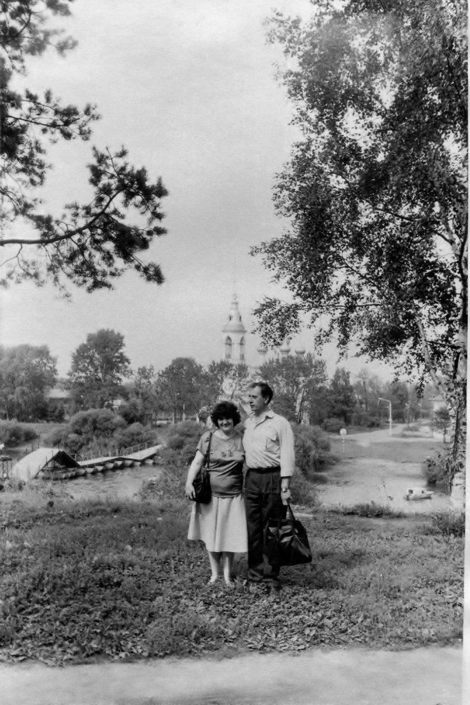 1980-е. На берегу реки Вологды