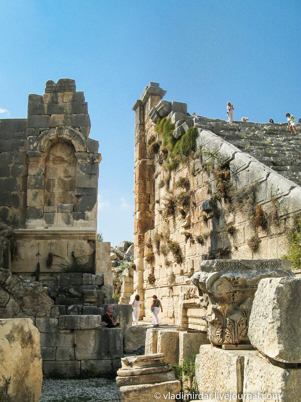 Античный амфитеатр в Мире (Демре