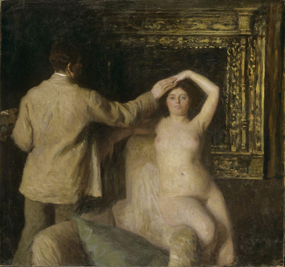 Художник и модель (1904)Ференци, Карой (1862-1917);