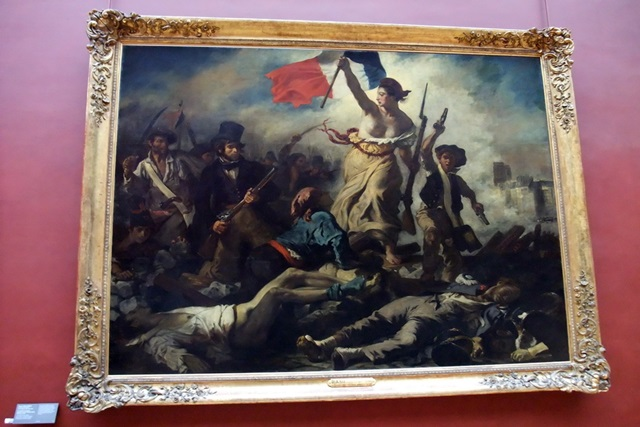 Знаменитую картину изрисовали маркером в Лувре. Фото 0 11b083 b8c32633 orig
